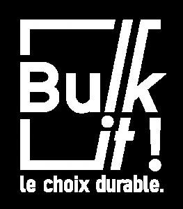 logo Bulk it ! blanc français