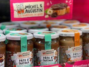 PLV pâte à tartiner Michel et Augustin Sitour